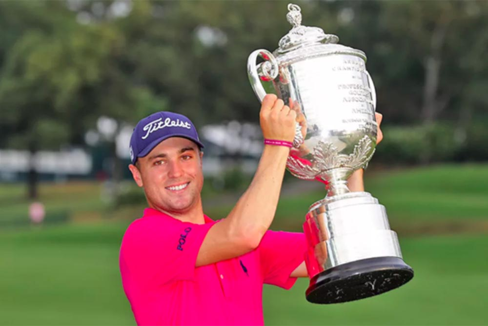Justin Thomas wins by two shots