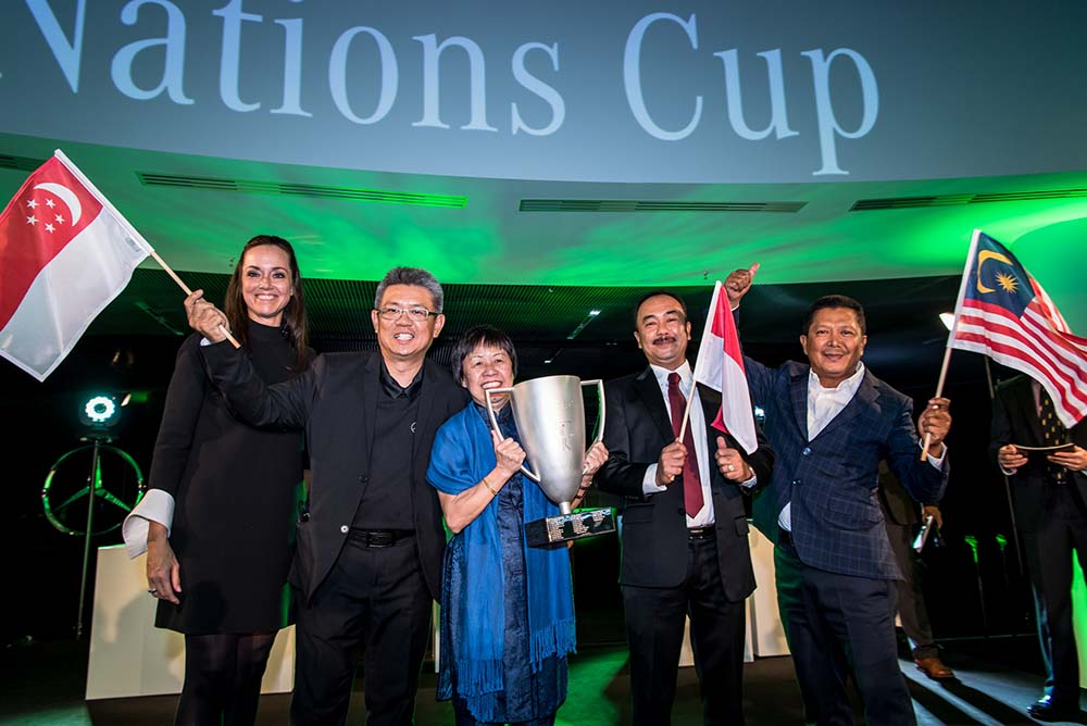 The Nations Cup goes to South Asia Team