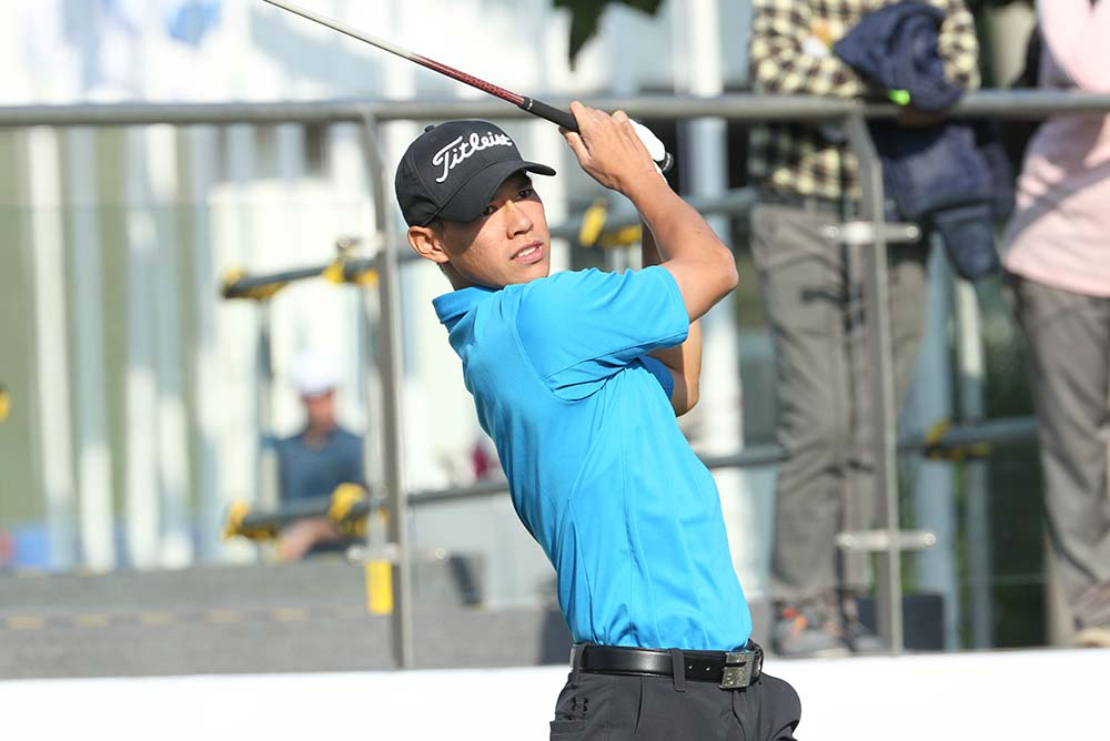 Matthew Cheung makes his UBS Hong Kong Open debut