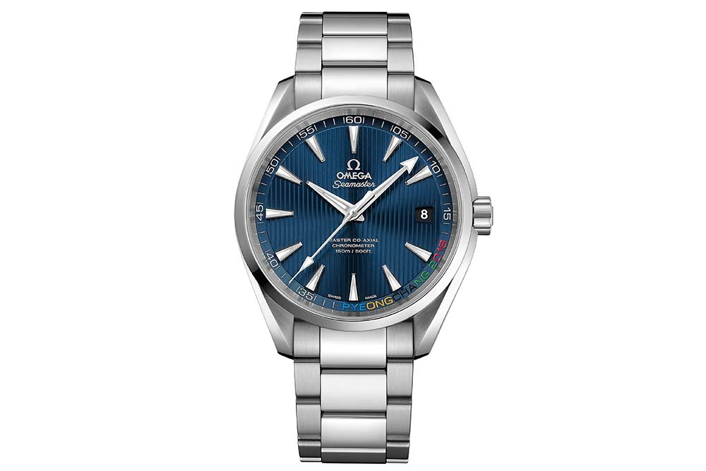 "The Omega Seamaster Aqua Terra ""PyeongChang 2018"" Limited Edition"