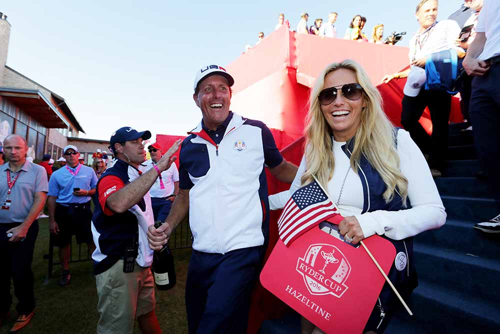 "Phil Mickelson and his wife, Amy, launched the ""Birdies for the Brave"" programme over ten years ago"
