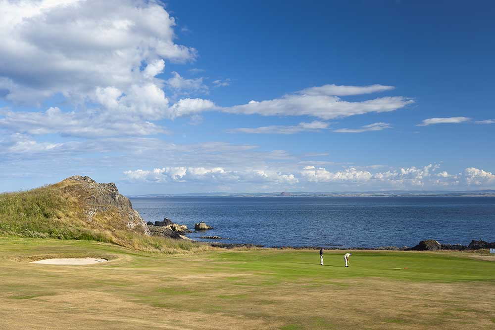 The 10th hole of Elie