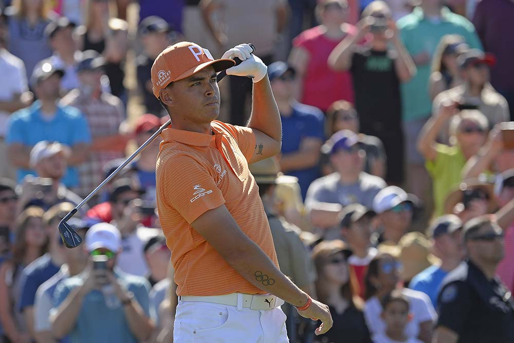 Rickie Fowler also bemoaned the conduct of a small but vociferous minority of the paying public