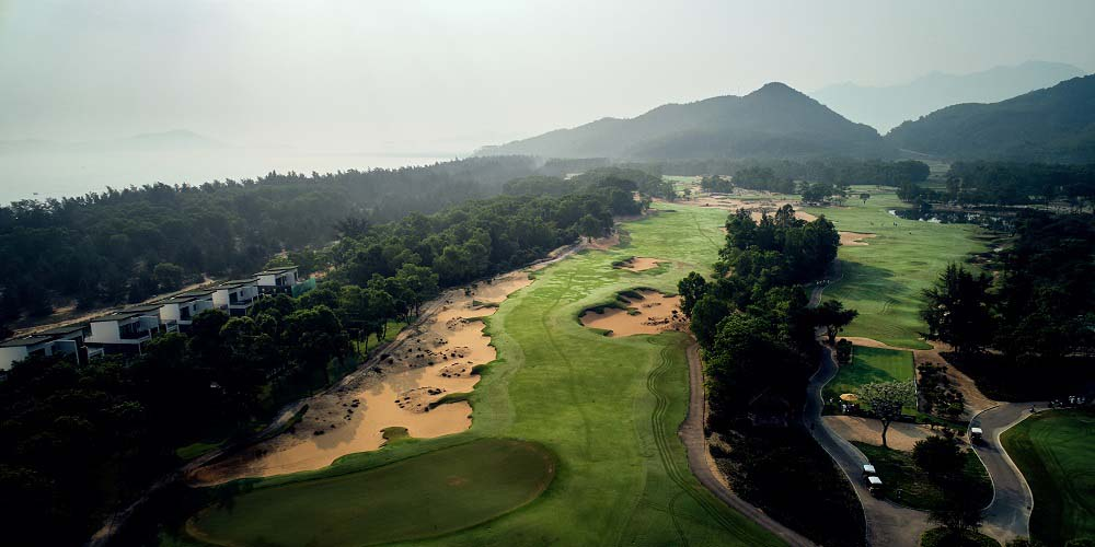 Faldo's golf course design at Laguna Lăng Cô, Vietnam