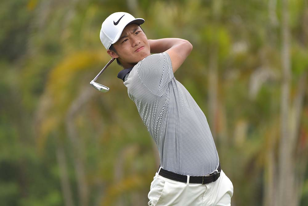 Yue Yin Ho finished runner-up in the Overall Boys' Division