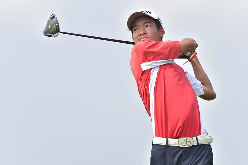 Taichi Kho wins the Overall Boys' Division by a 19-stroke margin