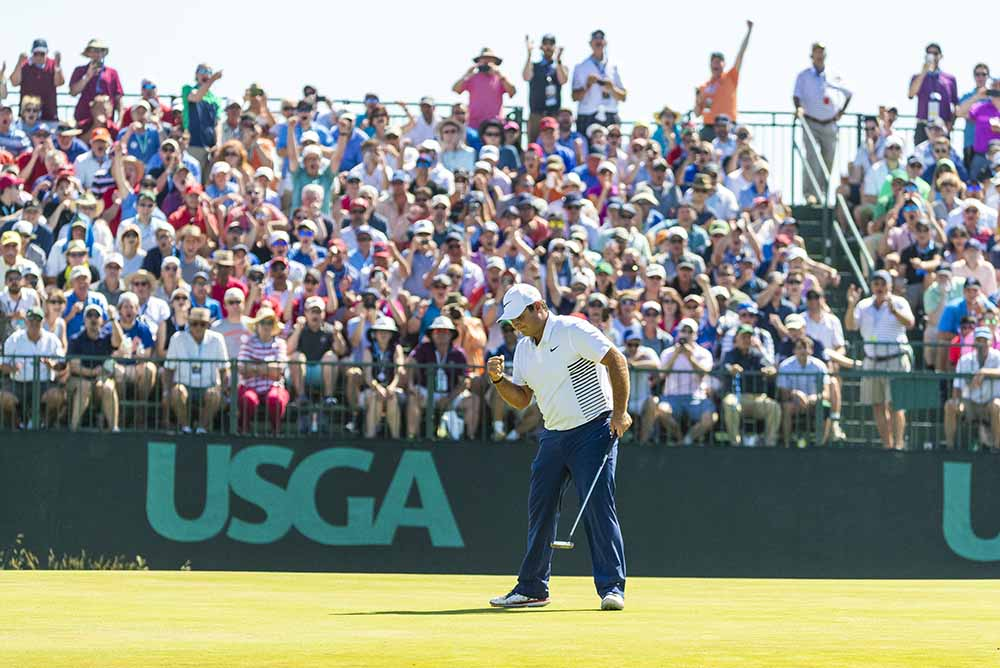 Reigning Masters champion Patrick Reed finished fourth