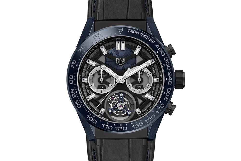 TAG Heuer Carrera 'Tête de Vipère' Chronograph Tourbillon Chronometer