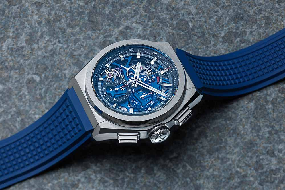 The technology is integral to the futuristic look of the watch