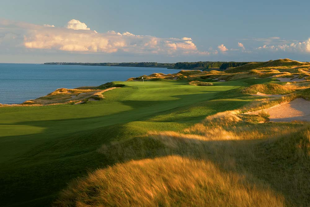 "Whistling Straits - Straits Course, Hole 2 ""Cross Country"""