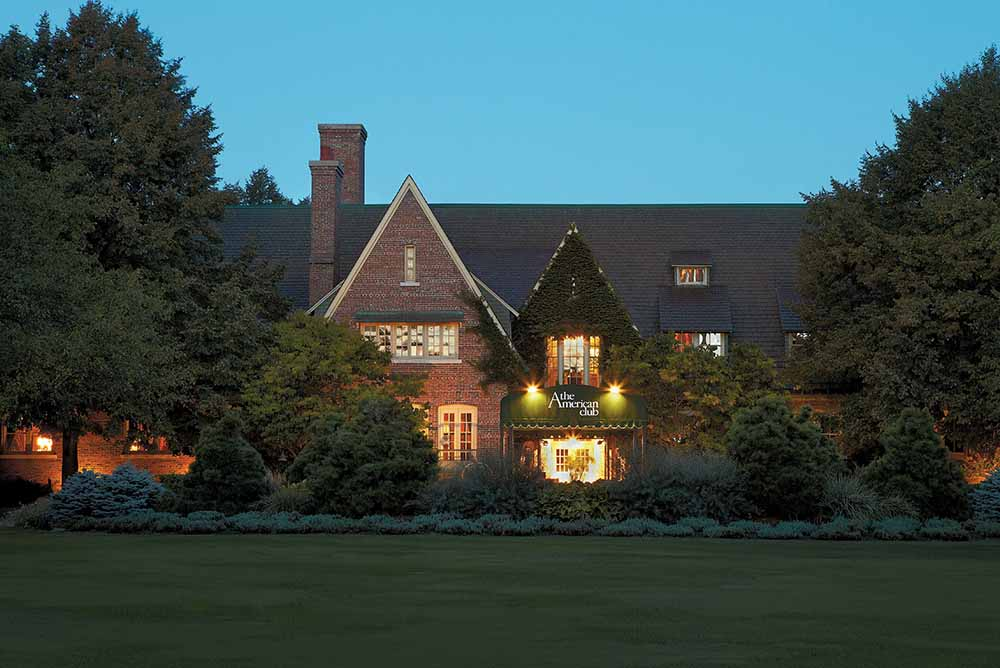 The American Club, one of only 200 Forbes Five Star hotels in the world