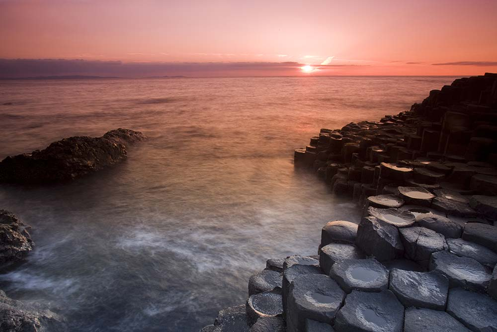 Giant's Causeway, one of the great geological phenomena in the world