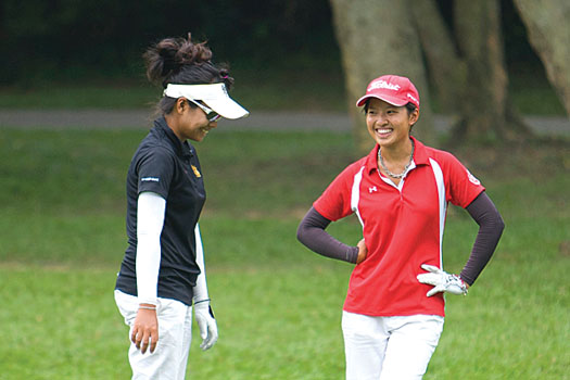 Tiffany Chan has been in red-hot form on the college circuit in the US