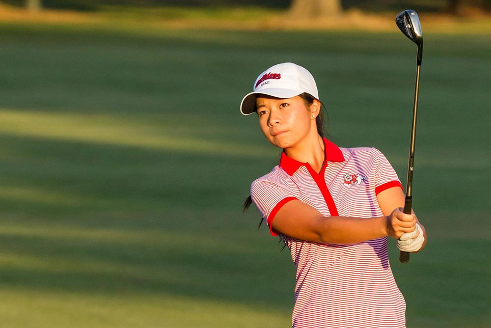 Mimi was named MW West Women's Golfer of the Week for the second time